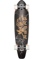 Globe The All Time Black Rose 35.875 '' - Longboard Complete
