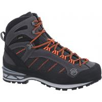Hanwag Wandelschoen makra combi gtx asphalt/orange-schoenmaat 44,5 (uk 10)