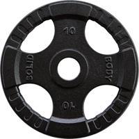body-solid Olympische Gietijzeren Halterschijf - 10 kg