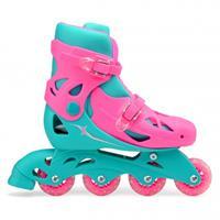 Xootz inlineskates meisjes roze/turquoise  31