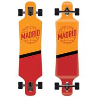 Madrid Spade Drop Through World 39'' - Longboard Complete