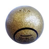 Sport-Thieme Oefen kogel Voor Speerwerpen Outdoor, 600 g
