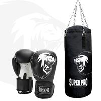 superpro Super Pro Combat Gear Junior Bokszak Set