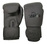 Legend Sports bokshandschoenen Powerfit & Protect matzwart 4oz