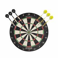 Dartbord Rogue Bristle met 2 sets dartpijlen 23 grams - Dartborden