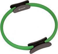 Schildkröt pilates ring 38 cm rubber zwart/ groen