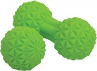 Schildkröt Massage Duo Set 12 cm groen 2 delig