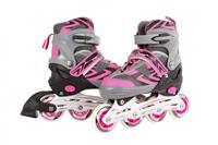 Street Runner inlineskates verstelbaar  42 roze/grijs