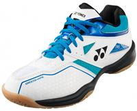 Yonex badmintonschoenen Power Cushion 36 heren wit/blauw