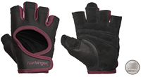 harbingerfitness Harbinger Women's Power Stretchback Fitness Handschoenen - Zwart/Rood - M