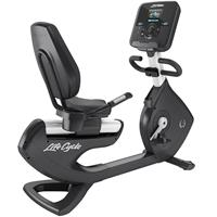 lifefitness Life Fitness Platinum Explore Ligfiets - Diamond White