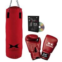 hammer FIT Boxing Set - 60 cm Bokszak + 10 oz Bokshandschoenen + DVD