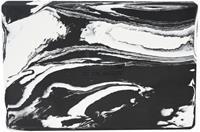 Reydon yogablok 30 x 20 x 5 cm foam zwart/wit
