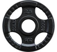 body-solid Olympische Gietijzeren Halterschijf - 2,5 kg