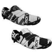 Bont Riot Road Shoes White/Black