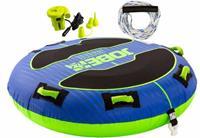 Jobe Breeze Towable Package 1P Blauw/Limoengroen