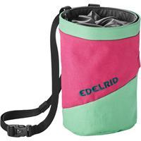 Edelrid - Chalk Bag Splitter Twist - Pofzakje, roze/groen/zwart