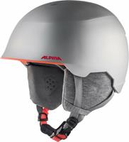 Alpina Skihelm junior maroi silver flamingo matt-51 -