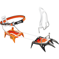 Petzl - Irvis Hybrid - Stijgijzers zwart/oranje