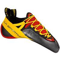 La Sportiva - Genius - Klimschoenen, zwart/oranje