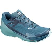 Salomon - Women's Sense Ride 3 GTX Invisible Fit - Trailrunningschoenen, blauw/turkoois/grijs