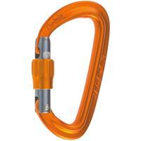 Camp - Orbit Lock - Schroefkarabiner oranje/bruin