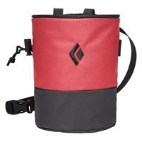 Black Diamond - Mojo Zip Chalk Bag - Pofzakje, zwart/rood/roze