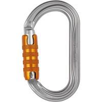 Petzl - OK Triact-Lock - Beveiligde karabiner grijs