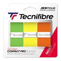 Tecnifibre Contact Pro Farbmix 3er Verpakking 3 Stuks