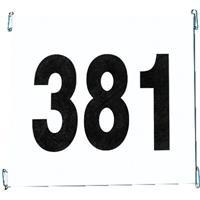 Startnummerset van scheurvast papier, Set 1-100