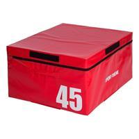 Sport-Thieme Soft Plyo Box, 91x76x45 cm, rood