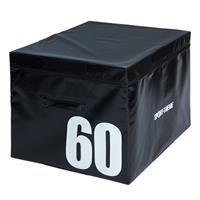 Sport-Thieme Soft Plyo Box, 91x76x60 cm, zwart