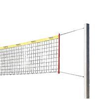 Sport-Thieme Beachvolleybal-installatie Stabil, Net zonder ommanteling, Zonder palenbeschermkussen