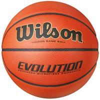 Wilson Basketbal Evolution, Maat 7 , Oranje-Zwart