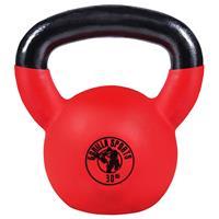 Kettlebell - Gietijzer (rubber coating) - 30 kg