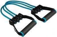 Avento Fitness Borst Expander 335 gram TPE zwart/blauw