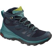 Salomon OUTline MID GTX dames blauw/groen 38 2/3 (UK 5.5)