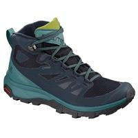 Salomon OUTline MID GTX dames blauw/groen 36 2/3 (UK 4)