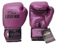 Legend Sports bokshandschoenen Powerfit & Protect paars maat 08oz
