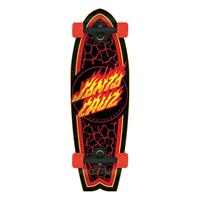 Santa Cruz Flame Dot Shark 27.7 - Cruiser Complete