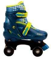 AMIGO rolschaatsen Gogo junior polypropyleen blauw/geel /33