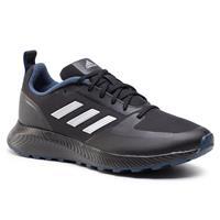 adidas Performance Runfalcon 2.0 hardloopschoenen trail zwart/zilver/donkerblauw