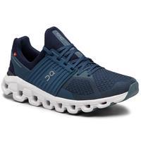 On - Cloudswift - Runningschoenen, grijs/blauw/zwart