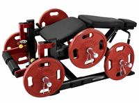 Steelflex Plate Loaded Leg Curl