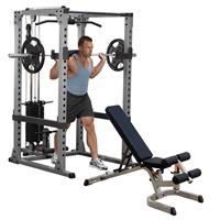 Body-Solid GPR378FB Power Rack - Full Option met Trainingsbank