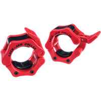 Body-Solid Lock-Jaw Collars - Rood