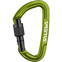 Salewa - Hot G3 Screw Carabiner - Schroefkarabiner, olijfgroen/groen/zwart