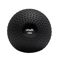 VirtuFit Slam Ball℃ Fitness Bal ℃ Crossfit Bal - 12 kg ℃ Zwart
