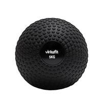 VirtuFit Slam Ball℃ Fitness Bal ℃ Crossfit Bal - 5 kg ℃ Zwart