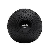 VirtuFit Slam Ball℃ Fitness Bal ℃ Crossfit Bal - 9 kg ℃ Zwart